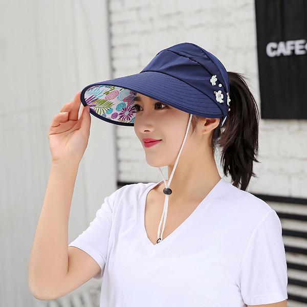 Custom Visor cap for women Factory wholesale sport hat Out door activities sun hats in good price