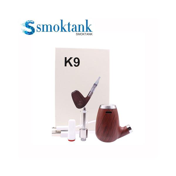 Le kit évaporateur épaissi avec tuyau de tabac en bois 900mAh peut être assorti avec un kit de filetage 510 kits de démarrage pour stylo vape