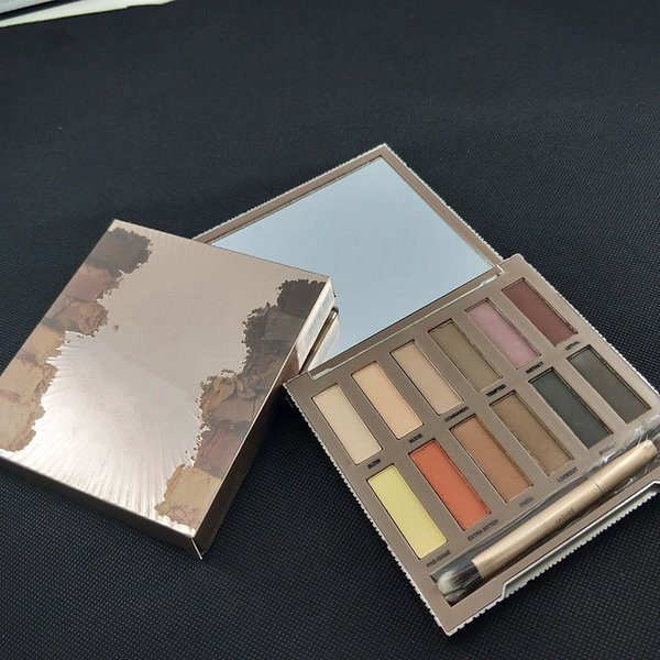 Makeup Basics Lidschatten matte Farben Matte Eye Shadow 12 Color Palette Eyeshadow maquillage make up 12*1.2g eye shadow