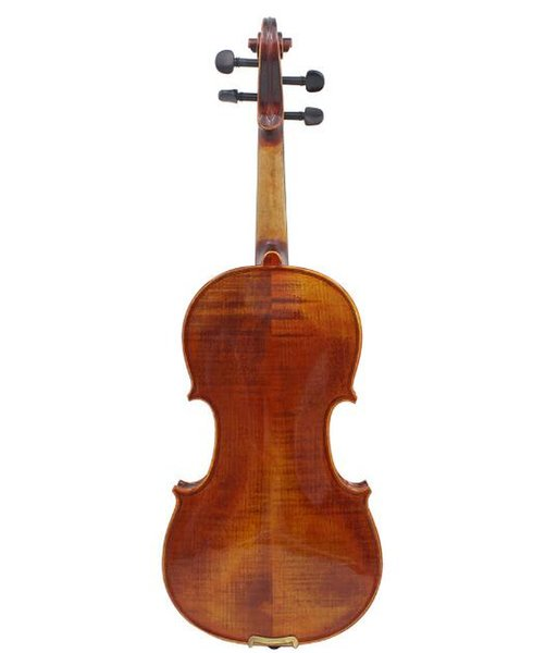 free shipping High-grade violin with ebony accessories professional grade hand-made solid wood violin