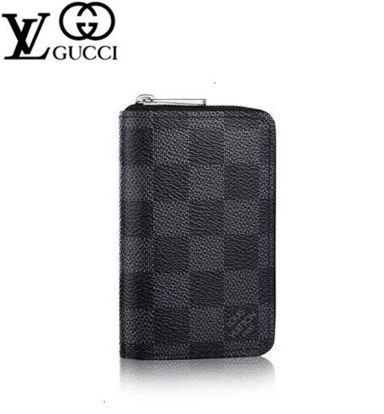 yangzizhi6 ZIPPY COIN PURSE VERTICAL N63076 Men Belt Bags EXOTIC LEATHER BAGS ICONIC BAGS CLUTCHES Portfolio WALLETS PURSE