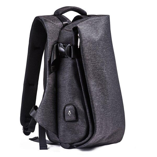 1208 Корейский мужской рюкзак для ноутбука сумка водонепроницаемый путешествия рюкзак большой емкости перезаряжаемые Мужской Sac Dos