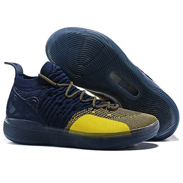 Nuevo 2019 de calidad superior Kd Xi 11 multicolor negro deportes zapatos de baloncesto para hombre 11s entrenadores zapatillas de deporte de diseño us40-46