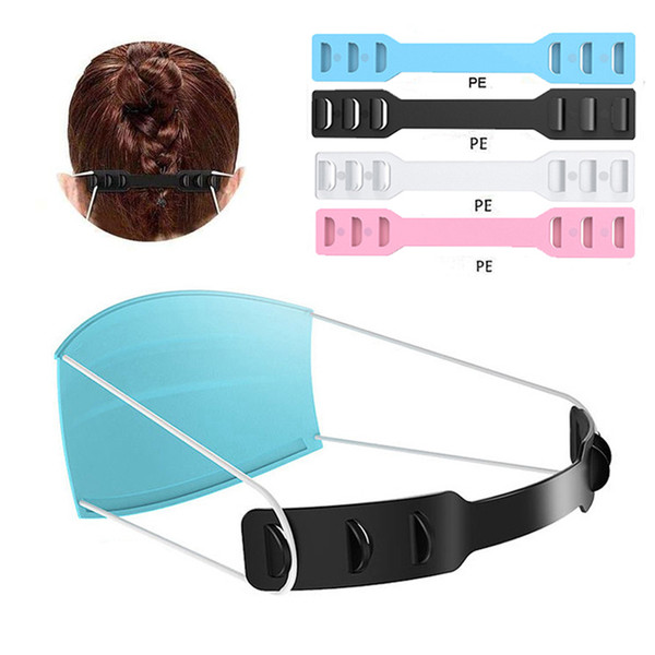 best selling Mask Ear Hook Strap Extender Buckle 3 Gears Adjustable Anti-Slip Ear Protector Ear Savers Special for Relieving Long-time Mask Wearing Ears