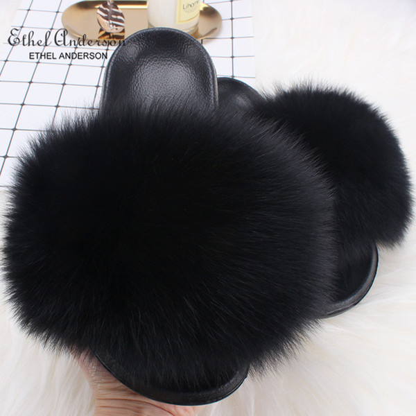 Black Fox Fur