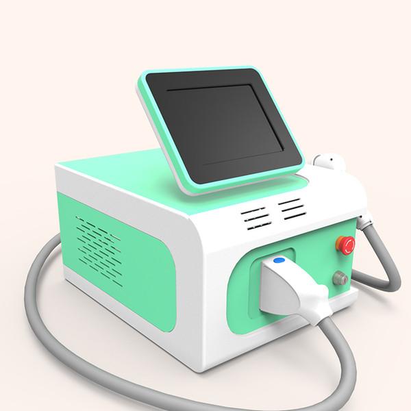 Salão de beleza uso máquina de depilação permanente 808nm fibra acoplado equipamentos de laser de diodo para homens / mulheres cabelo parte privada