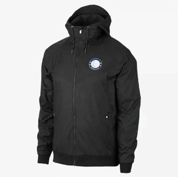 Wholesale Windbreaker Men Football Club Team Jackets Sports Zipper Sportswear Running Jackets Drop Shipping CE98265