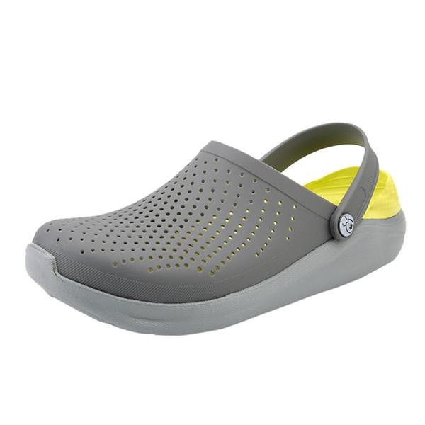 SAGACE Comfortable Men Pool Sandals Summer Outdoor Beach Shoes men Slip On Garden Clogs Casual Water Shower Slippers Unisex J26