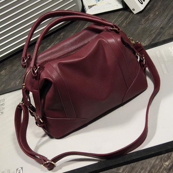 2019 Hot Sale Fashion Large Capacity Casual Leather Handbags Women Bag Ladies Office Tote Women Messenger Bags Designer
