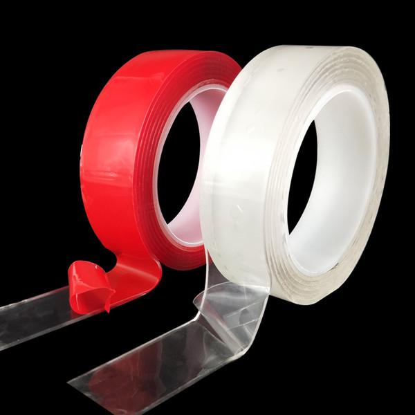 Magia nano fita vhb elástica à prova d 'água removível de cola em vez de solda dupla face fita para reparação de isolamento