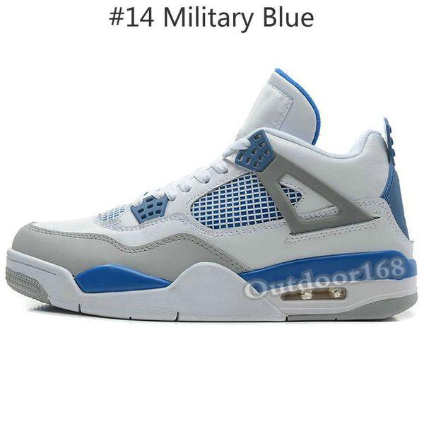 # 14 Bleu militaire