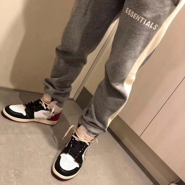 Fear Of God Essentials Sweatpants Men WomenB Quality 2019 New Joggers Drawstring Pants Trousers Fear Of God Sweat pants