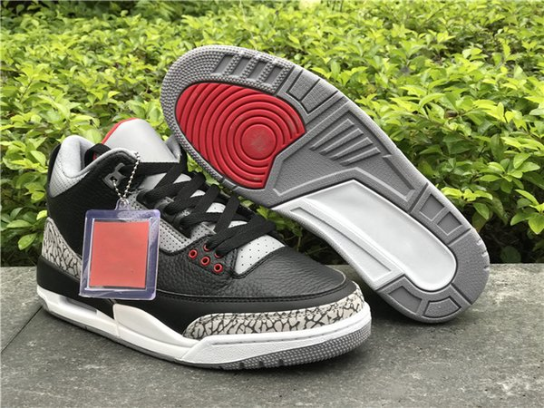 Black Fire Red Cement Grey