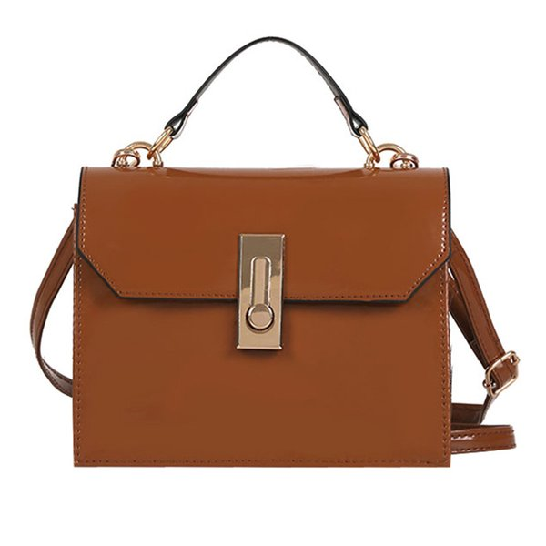 MUQGEW Women Girl Fashion Patent Leather Flap Bag Crossbody Ladies Portable Shoulder Bag Casual Large Capacity Hot Sale #1123