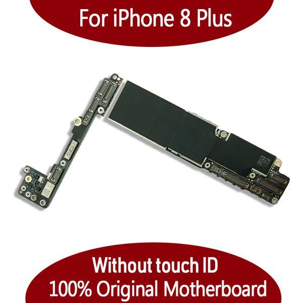 Carte mère originale de 64 Go de 256 Go pour iPhone 8 Plus 5.5 pouces sans empreinte digitale sans Touch ID IOS carte logique livraison gratuite