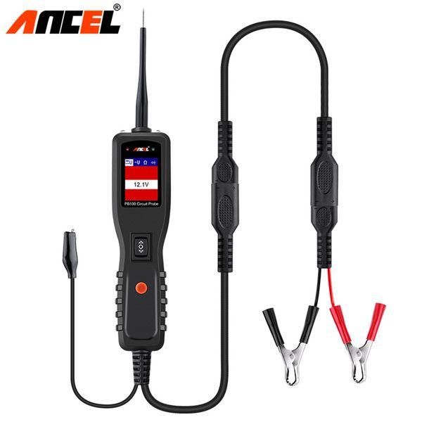 ANCEL PB100 Car Battery Tester 12V/24V Electrical Power Scanner Power Probe Tester Read DC/AC Voltage Automotive Diagnostic Tool