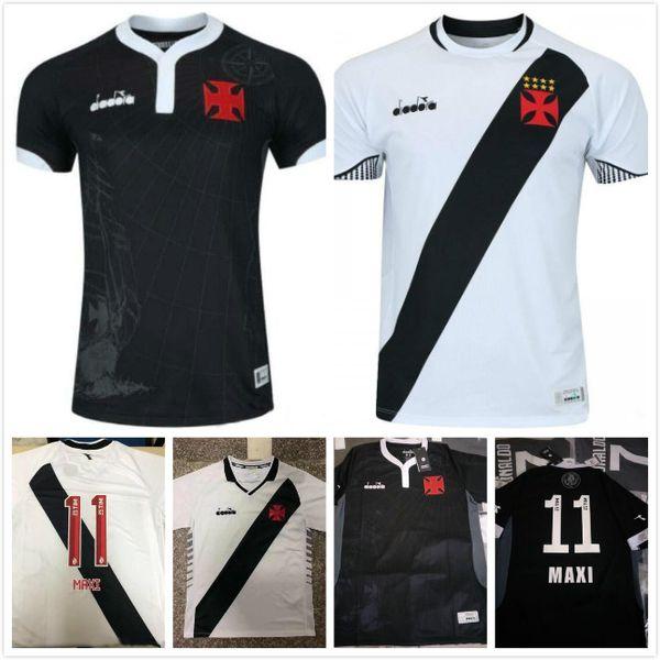 62ba067bcafbd 2019 20 Vasco da Gama coccer Jersey 19 20 negro blanco uniforme de fútbol  camiseta de