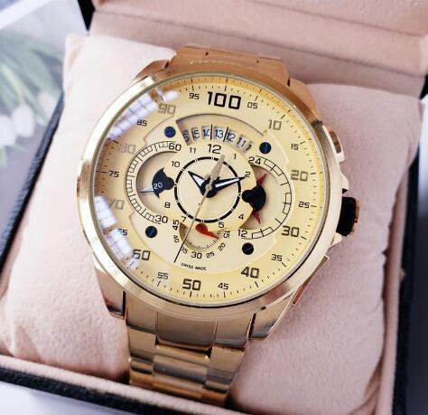 "luxury watch SLS Mercedes Wristwatch quartz movement man former ""Shuocong"" Watch Luxury waterproof t.h. chronograph"