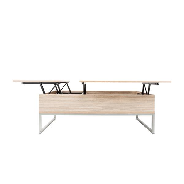 Table basse relevable avec compartiment caché et meubles de table Mordern Meubles de salle de séjour Ameublement de maison