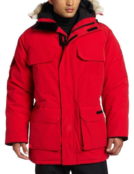 Winter Parker Coat Men's Fashion Warm Thick Cold Goose Down Jacket Ski Suit Coat Mens Outwear Jacket HFWPYRF049