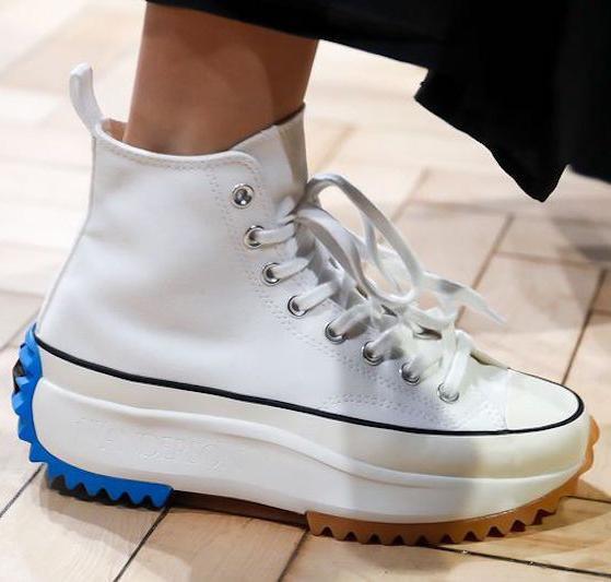 Haute qualité J.W. Anderson Star Hike des années 1970 hommes femmes chaussures de toile JW Chunk baskets occasionnels des années 70 8jhk