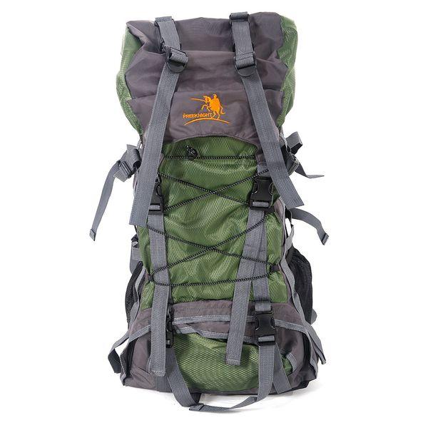 Free Knight SA008 60L Outdoor Waterproof Hiking Camping Backpack Green