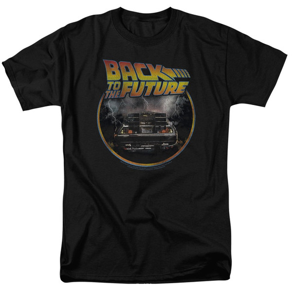 Popfunk Ritorno al futuro Delorean T Shirt Exclusive Stickers