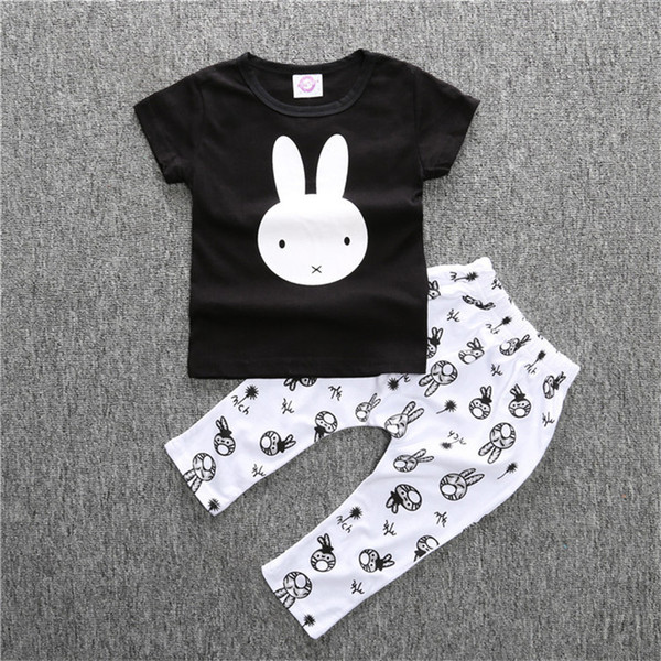 Summer Baby Romper Fashion Baby Boy Clothing Sets Short Sleeve Newborn Baby Clothes Roupas Bebe Infant Jumpsuits T-shirt Pants
