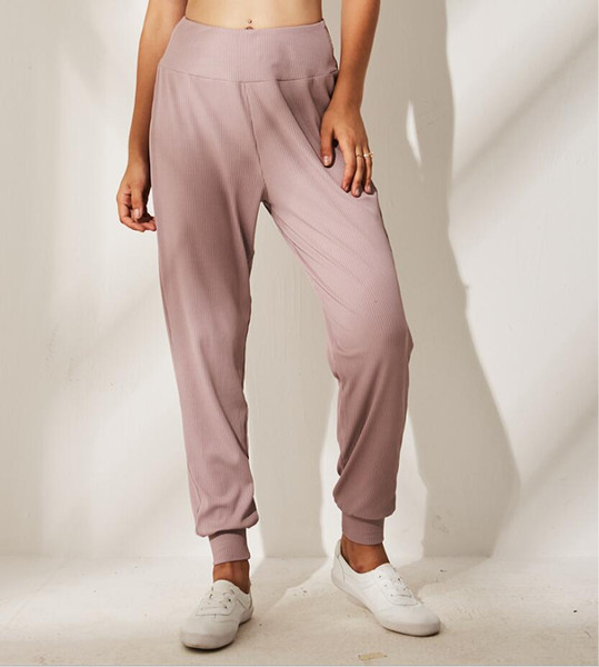 New pleated pants Running pants Women's casual pants Loose and breathable Bundle trousers