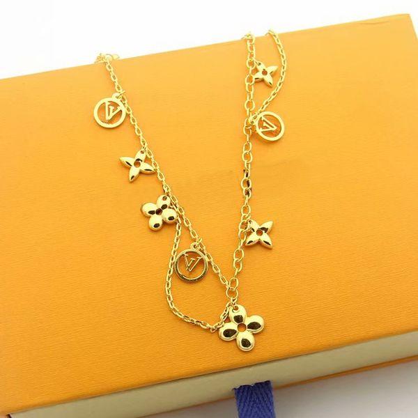 Halskette / Gelbgold
