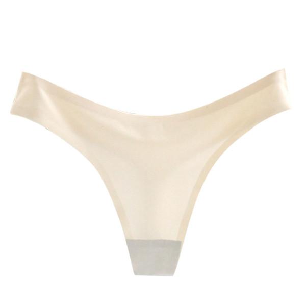 YOUYEDIAN Poliéster tangas de color sólido Mujeres Calzoncillos Bragas Ropa interior Bragas Bikini Calzoncillos G-String entrepierna sexy puro # y20
