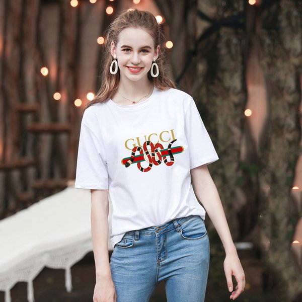 2019 Italien Designer Polo Shirt T-Shirts Markenschlange Biene Blumenstickerei Herren Polos High Street Mode Streifen Druck Polo T-Shirt