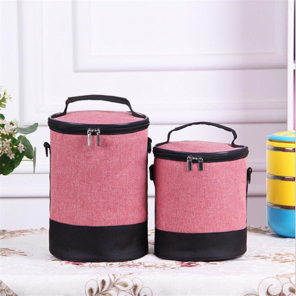 US Insulated Lunch Bag Heat Preservation Portable Tote Picnic Bento Storage Bag