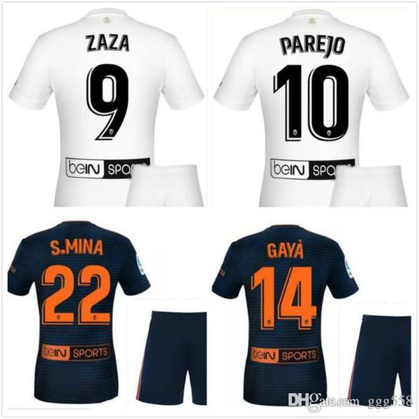 info for 71972 3d6fa 2019 3 FUTBAL Camisa Men 2019 Golden Soccer Jerseys,Chandal Valencia Jersey  Valencia CF 18 19 Thai Batshuayi Gameiro Kondogbia C.Soler Parejo From ...