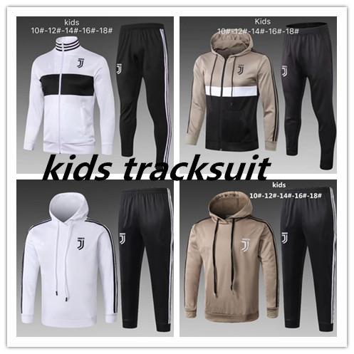 2018 2019 KIDS hoodie tracksuit Sweatshirt Hoodies chandal CR7 JUVENTUS Soccer Jersey 18 19 JUVE DYBALA Camisetas Futbol Camisas Maillot
