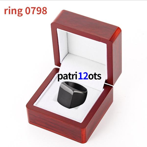 2019 nuova 12 Calcio uomini anello di palla Mondiale sovrano Big Ampia lettera Man anelli abbini gli anelli gioielli da uomo Memorial Collection