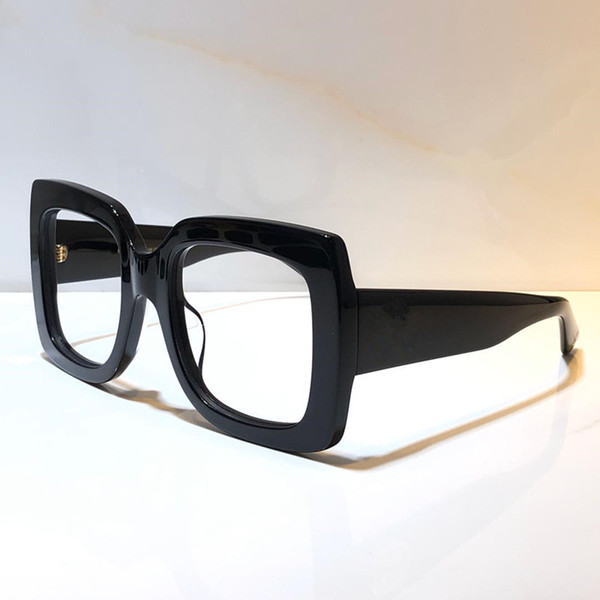 black clear lens