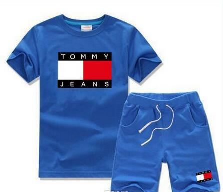 2018 VENDITA CALDA New Style Abbigliamento per bambini Per COCO Ragazzi E Ragazze Tuta Sportiva Infantile Vestiti manica corta Bambini Set 2-7 T