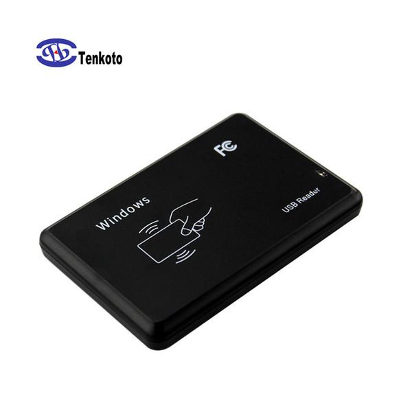 USB Intelligent Contactless Smart Card Reader NFC Reader USB Interface RFID Windows Door Access Control IC Or ID NFC Reader