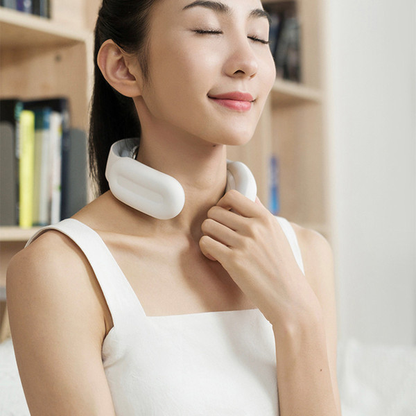 best selling Smart Electric Neck and Shoulder Massager Low Frequency Magnetic Therapy Pulse Pain Relief Tool Health Care Relaxation