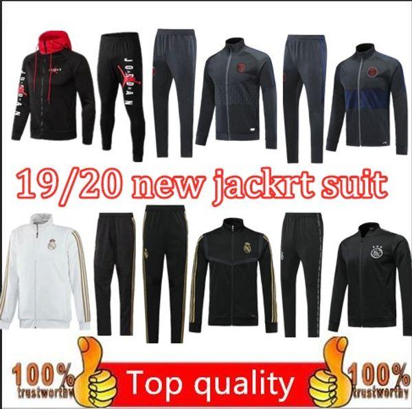 2019 - 20 PSG Jordam X jacket hoodie Champions League Survetement 18 19 20 Paris MBAPPE football jackets psg air jordam jacket tracksuit