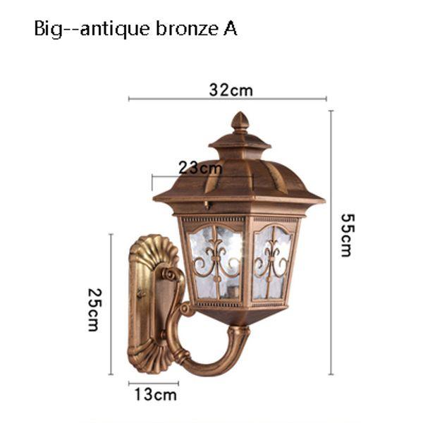 big Antique bronze A