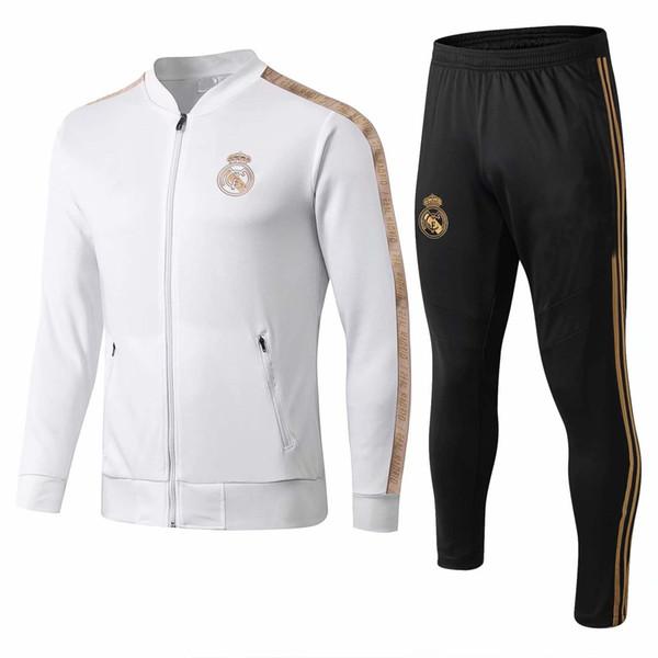 Yeni 2019/2020 Real Madrid eşofman yetişkin futbol chándal Maillot De Ayak eşofman 2019/20 yetişkin antrenman takım survêtement Spor