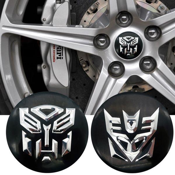 4pcs/lot 56mm Car Wheel Center Hub Cap Cover Sticker Rim Emblem Badge Fit For Peugeot 307 206 407 308 207 2008 508 3008 301