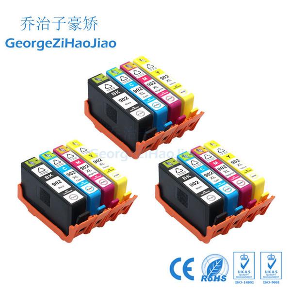 Cartouche d'encre compatible 3sets 902XL de remplacement pour HP902 HP 902 XL pour OfficeJet Pro 6968 6970 6971 IMPRIMANTE