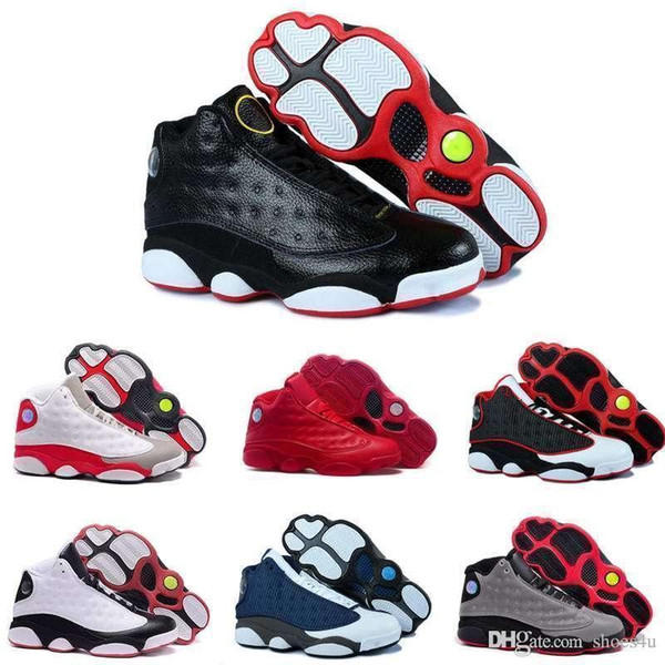 New 13S China mens basketball shoes top quality outdoor sports shoes for men many colors US 8-13 Free Drop Shipping