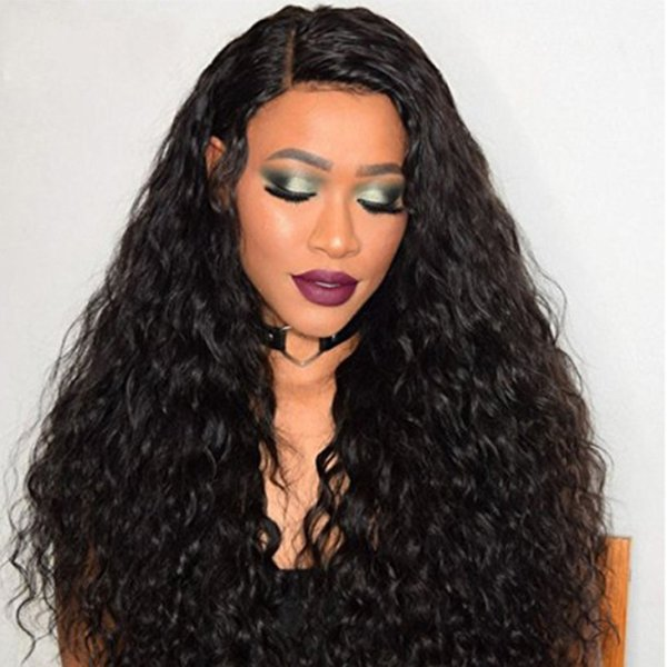 360 Lace Frontal Wig Pre Plucked For Black Women Brazilian Wet And Wavy Human Hair Wig 360 With Baby Hair