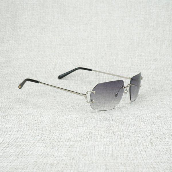 silver frame grey