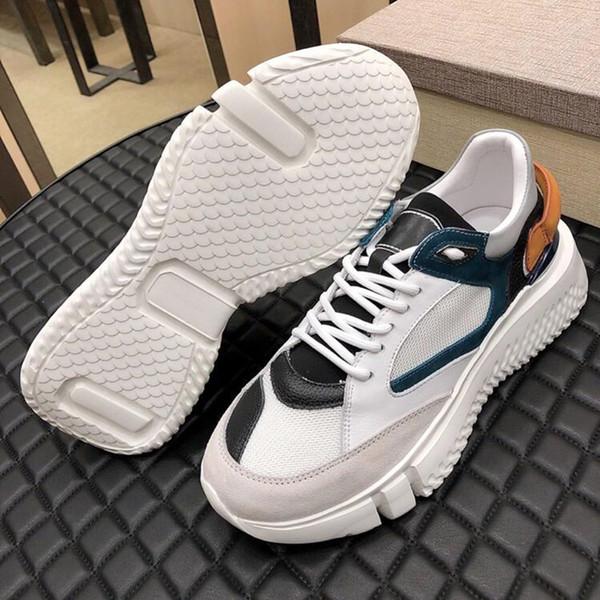New 2019 Men Shoes Veloce Petrol Royal Luxury Casual Shoes for Men Zapatos de hombre Lace-Up Mens Footwears Chaussures pour hommes on Sale