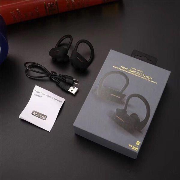 IOS ve Android BY için 2020 DOĞRU KABLOSUZ FLAŞ Kulaklık Blutetooth 5.0 oyun Kulaklık Taşınabilir Çift Kulak Kulaklık